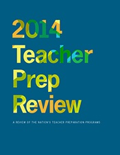 teacher prep report 2014
